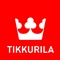Tikkurila logo - red label - cmyk