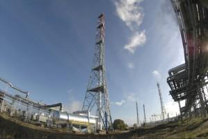 Budowa pochodni gazów zrzutowych