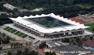 Stadion Legii wWarszawie