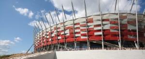 Konstrukcja dachu Stadionu Narodowego wWarszawie